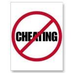No cheating
